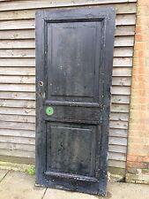 Reclaimed  Period Victorian 2 Panelled Front Door