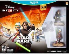 Disney Infinity 3.0 Edition STAR WARS Starter Pack Nintendo Wii U Figure Lot# EB