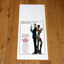 007 BERSAGLIO MOBILE locandina poster Roger Moore Grace Jones John Glen Spy K66