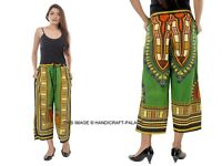 Femme Dashiki Africain Pantalon Droit Soirée Indien Sarouel Boho