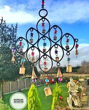 INCANTEVOLE NUOVO Rainbow Perline e campane campane Boho Hippie Festival Arredamento Mobile