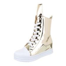 Damen-High-Top Sneaker aus Kunstleder 41 Größe