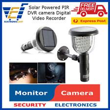 Solar 39 IR CCTV DVR Security Camera W/ PIR Motion Detection Video Record