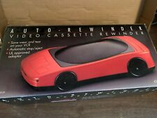New listing Garrard Red Sports Car Vcr Vhs Video Cassette Tape Rewinder - Used