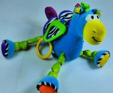 "Lamaze Infant Development Horse Toy Stroller/Crib Activity Plush Soft Toy 8"" Euc"