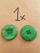 Fashion Button - Size: 25mm - Colour: Green