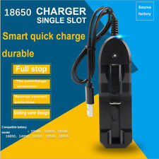 Universal Battery Charger for Rechargeable Batteries 10440 18350 18650 16340