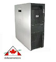 HP Z600 WorkStation 2 x Quad Core Intel Xeon X5560 2.80Ghz  24Gb RAM  500Gb HDD