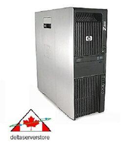 HP Z600 WorkStation 2 x Quad Core Intel Xeon X5560 2.80Ghz 32Gb RAM  500Gb HDD