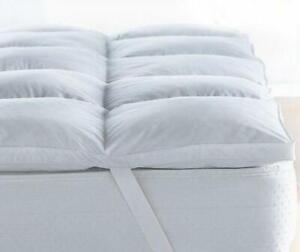 "Hotel Quality Soft 5cm Thick ""MicroLite"" Mattress Topper Anti Allergic All Sizes"