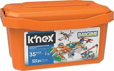 K'Nex 18025 Imagine, Click & Construct Value Building Set, 35 Models, Engineerin