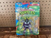 Vintage Teenage Mutant Ninja Turtles Super Shredder Action Figure 1992 Unpunched