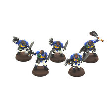 SPACE MARINES 5 scout #4 METAL WP Warhammer 40K Scouts
