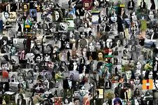 Gran Póster Collage Foto de Nick Drake