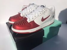 "Supreme Nike Dunk ""Jewel"" Size 11 Red"