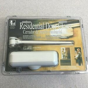 Tell Manufacturing Residential Door Closer Kit Ivory DC100081