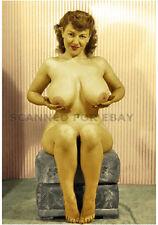 Model nude girl print leggy busty art woman female picture KATHY-photo