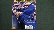 Terry Hanratty Signed 16x20 Photo SI Cover (11/7/66)  W/1966 Nat Champs - SCH