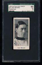 1923 V128-1 Paulin's Candy LEO BENARD #10 SGC 60 5