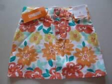 GYMBOREE Sunny Citrus Floral Mini Skirt Skort Orange/Yellow Sz 4 5 6 8 10 NEW
