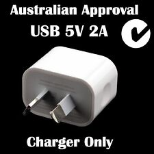 AU iPhone USB Wall Charger Adapter for iPhone 4S 5S 6S Plus Samsung Nokia-2A App