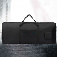 61key Thick Padded Electronic Piano Keyboard Bag WShoulder Cover STOCK