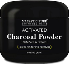 Teeth Whitening Charcoal Activated Safe diy Toothpaste Peppermint Spearmint 4oz