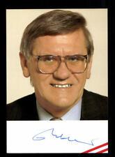 Unbekannt Autogrammkarte Original Signiert ## BC 119381