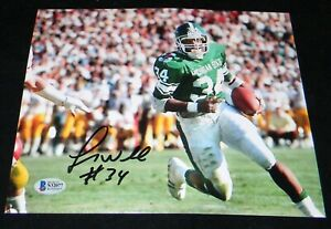 LORENZO WHITE AUTOGRAPHED SIGNED MICHIGAN STATE SPARTANS 8x10 PHOTO BECKETT