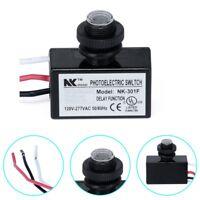 Photoelectric Photocell Dusk to Dawn Button Photo Control Eye Switch Flush M #mi