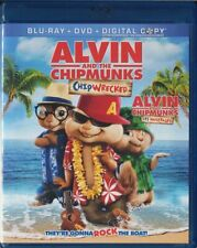 Alvin and the Chipmunks : Chipwrecked (Blu-ray Disc / DVD, 2012, 2-Disc Set)