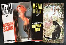 METAL HURLANT - LOT DE 2 N°61 ET 62 - 1981 - ETAT NEUF