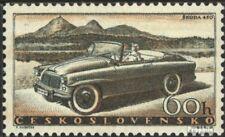 Tchécoslovaquie 1111 neuf avec gomme originale 1958 automobile