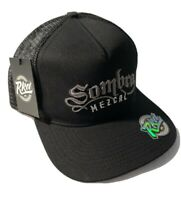 Sombra Mezcal La Via Trucker Baseball Hat Cap Adult Mens Black Snapback RKD Co
