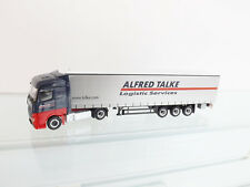 "Herpa 307499 H0 1 87 MB Actros Streamspace plan de cortina - trailer ""talke"""