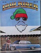 LOWRIDER  DEC.'79  NEW O.G. ISSUE ...$14.99