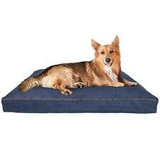 """Dog Bed 40"""" x 30"""" Premium Orthopedic Memory Foam Pillow Supports Body Pet Puppy"""