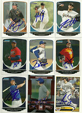 2013 Bowman TOM WINDLE Signed Card PHILLIES auto rc DODGERS MAPLE GROVE, MN