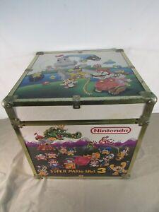 Vintage Nintendo Zelda/Mario Bros Wood Storage Box