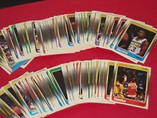 1988-89 Fleer Michael Jordan Basketball Set 125/132 & Sticker Set (15) Graded