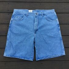 New WRANGLER Rugged Wear Relaxed Fit Denim Jean Shorts Size 40 36505VI