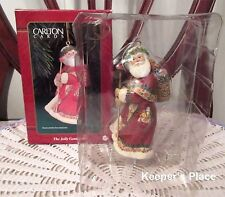 Carlton Cards THE JOLLY GENTLEMAN St. Nick 10th Anniversary Collectible Ornament