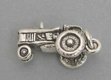 New Sterling Silver Charm Pendant 3D FARM TRACTOR 2390