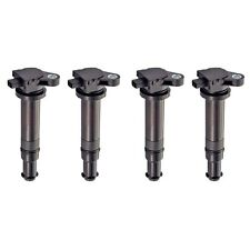 New AD AutoParts Set Of 4 Ignition Coils For Hyundai And Kia 2006-2011
