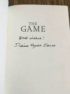 The Game, Signed By Diana Wynne Jones 1st/1st
