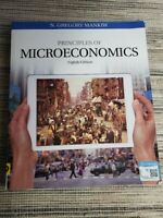 Principles of Microeconomics 8th Ed Mankiw 1305971493 9781305971493 Good Cond.