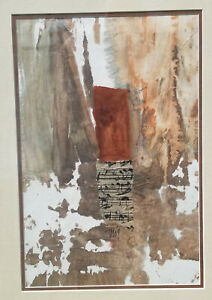 MIXED MEDIA ON PAPER Nguyen Dieu Thuy Watercolor and inks oroginal painting