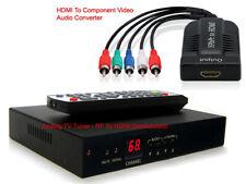 Professional RF To HDMI DVI Component RGB Video Demodulator NTSC