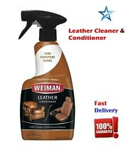 Leather Care Conditioner Cleaner Restorer Car Seats Protection Shoes Sofa 16 OZ
