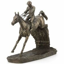 Clearing the Last David Geenty Bronze Effect Sculpture Statue Ornament